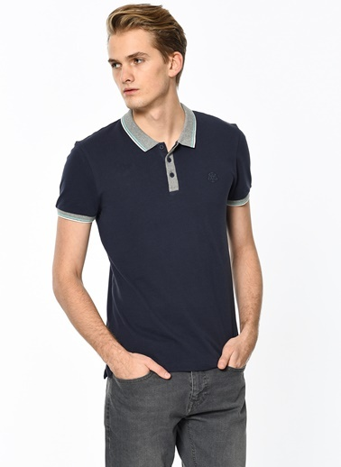 Polo Yakalı Tişört Mavi